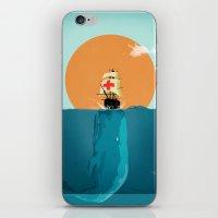 fish iPhone & iPod Skins featuring fish  by mark ashkenazi