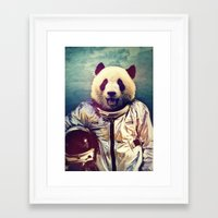 monkey Framed Art Prints featuring The Greatest Adventure by rubbishmonkey