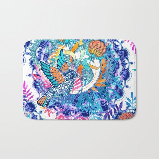 Wild Garden Bath Mat