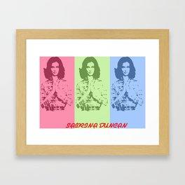 Kate Jackson Framed Art Print