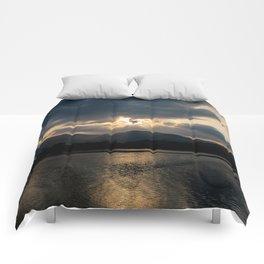 Shining Eye on the Sky Comforters