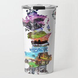Prythian (with Compass) Travel Mug