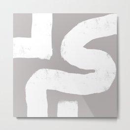 Nikko Abstract Series - Light Line 2 Metal Print