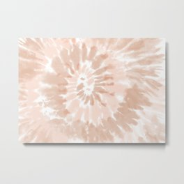 Neutral Tie-Dye 02 Metal Print