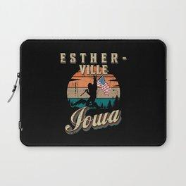 Estherville Iowa Laptop Sleeve