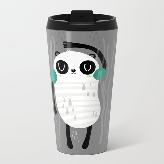 Contra corriente Metal Travel Mug