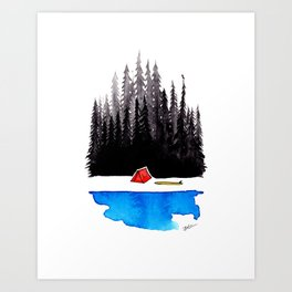 Simple Stuff Art Print