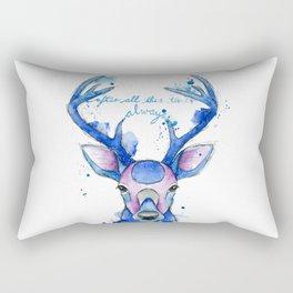 Always. Harry Potter patronus. Rectangular Pillow