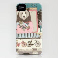 Bear's Cup of Tea Slim Case iPhone (4, 4s)