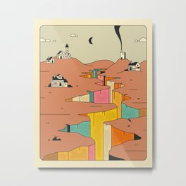 DENIZENS (4) Metal Print