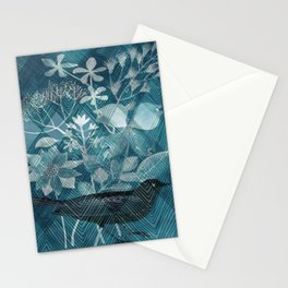 Black passer Stationery Cards