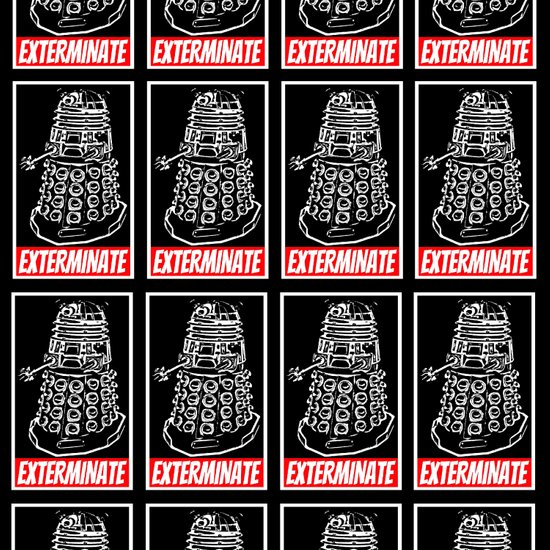 exterminate dalek dr who duvet cover by silvioledbetter society6