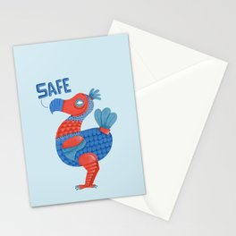 Safe Dodo Stationery Cards