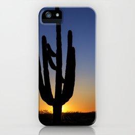 Desert Sunset iPhone Case