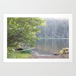 Guarding the Lake pt. 1 Art Print