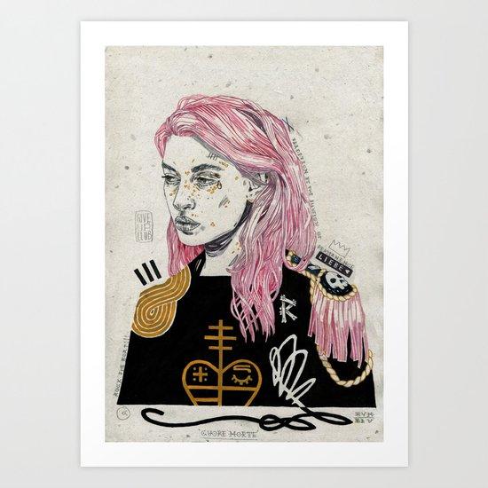 Cuore Morte Art Print