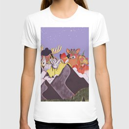 Friends in the mountains T-shirt