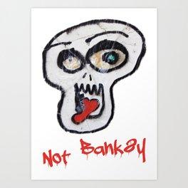 Not Banksy Art Print