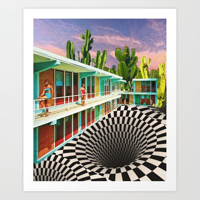 Time Warp Motel Kunstdrucke