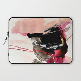 Day 32: Present conversations materialize then pass (like a fleeting Instagram post). Laptop Sleeve