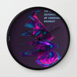 THE CURRENT ZEITGEIST Wall Clock