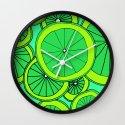 Summer Limes Citrus Art by emmafreemanart