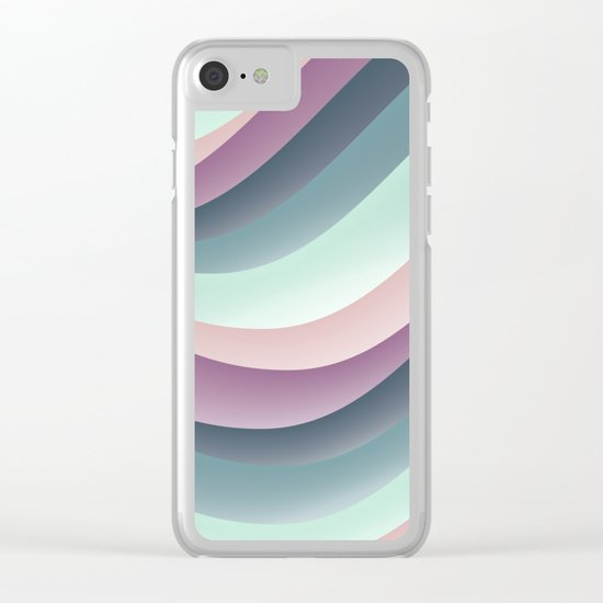 Pattern 39 Clear iPhone Case