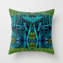 Underwater Feel Throw Pillow