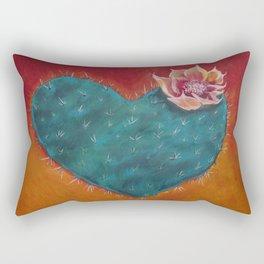 Cactus Heart Rectangular Pillow