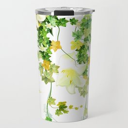 Watercolor Ivy Travel Mug