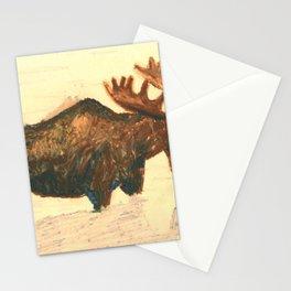 Moose and Reflection Stationery Cards