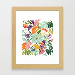 Hello Tropical Framed Art Print