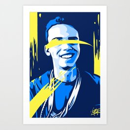 Inspiration of Logic Art Print