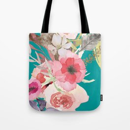 Flowers , floral , shabby chic décor,  flower decor , Tote Bag