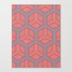 Hexagon No. 2 Canvas Print