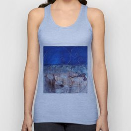 Chicxulub - Bluer version Unisex Tank Top