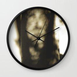 Shadows 001 Wall Clock