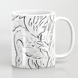 Leda & Swan in the Garden of Earthly Delights Coffee Mug