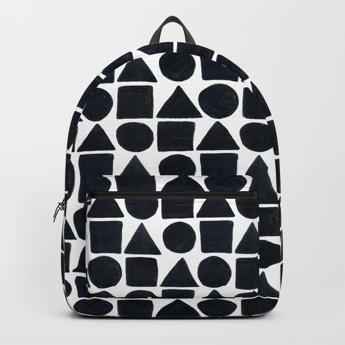 Black & White Geo Rucksack
