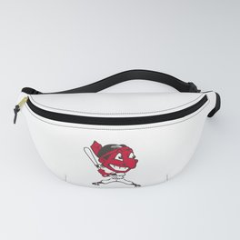 Cleveland Indian Chief Wahoo Fanny Pack