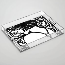Harness Girl Acrylic Tray