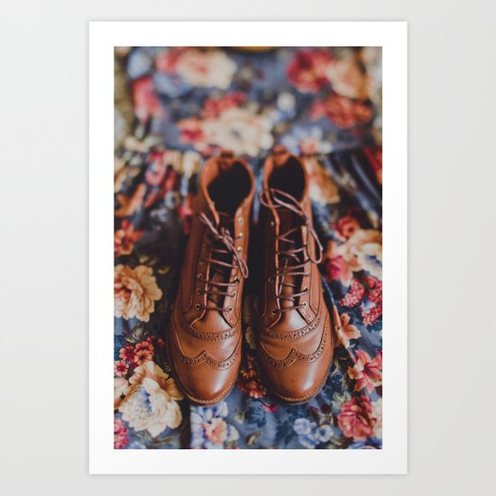 Autumn Basics Art Print