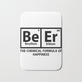 beryllium - I love beer Bath Mat