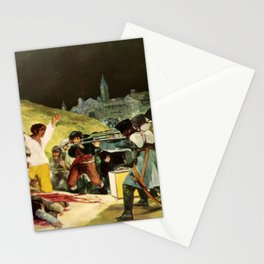 The Third Of May 1808 By Francisco Goya Stationery Cards
