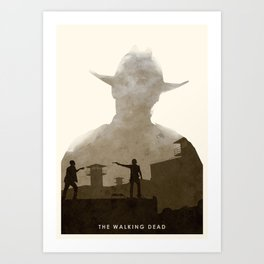 The Walking Dead (II) Art Print
