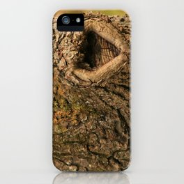Walnut Love * Heartwood * iPhone Case