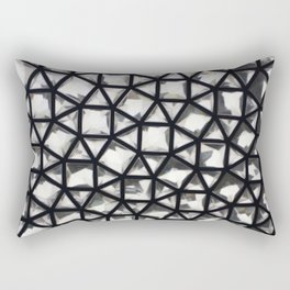 Abstract London Rectangular Pillow