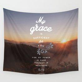 2 Corinthians 12:9 Wall Tapestry