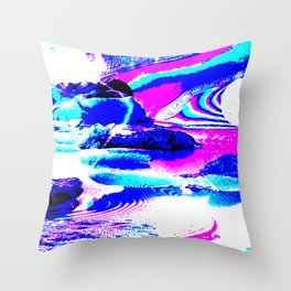 Confusing landscape I Throw Pillow