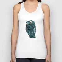 stone Tank Tops featuring Stone by @Katbingart